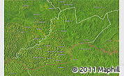 Satellite 3D Map of Zemio
