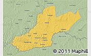Savanna Style 3D Map of Zemio