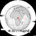 Outline Map of Zemio