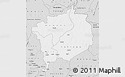 Silver Style Map of Haute-Kotto