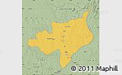 Savanna Style Map of Ouadda