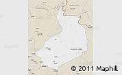 Classic Style 3D Map of Yalinga
