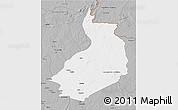 Gray 3D Map of Yalinga