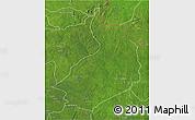 Satellite 3D Map of Yalinga