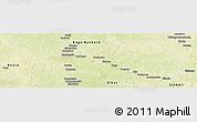 Physical Panoramic Map of Dekoa