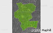 Satellite Map of Kemo, desaturated
