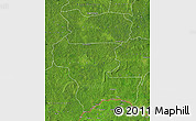 Satellite Map of Kemo