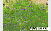 Satellite Map of Central African Republic