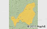 Savanna Style Map of Bangassou