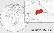 Blank Location Map of Mbomou