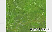 Satellite Map of Mbomou