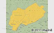 Savanna Style Map of Mbomou
