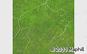 Satellite 3D Map of Rafai