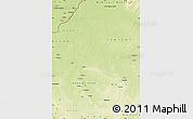 Physical Map of Nana-Gribingui