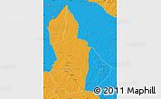 Political Map of Nana-Gribingui