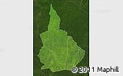 Satellite Map of Nana-Gribingui, darken