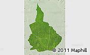 Satellite Map of Nana-Gribingui, lighten