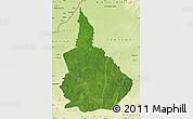 Satellite Map of Nana-Gribingui, physical outside