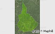 Satellite Map of Nana-Gribingui, semi-desaturated