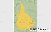 Savanna Style Map of Nana-Gribingui