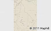 Shaded Relief Map of Nana-Gribingui