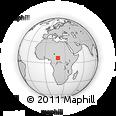 Outline Map of Nana-Gribingui