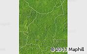 Satellite Map of Bakala