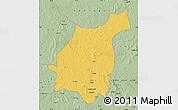 Savanna Style Map of Bakala