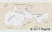 Classic Style 3D Map of Bambari