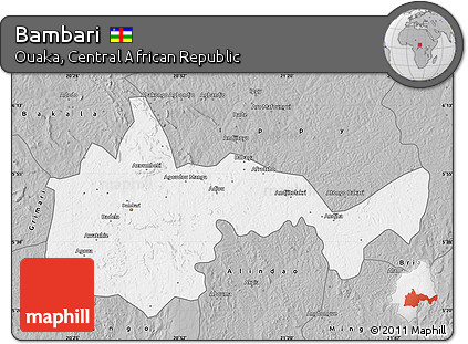 Gray Map of Bambari