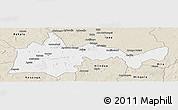 Classic Style Panoramic Map of Bambari