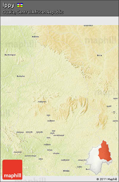 Physical 3D Map of Ippy
