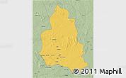 Savanna Style 3D Map of Ippy