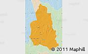 Political Map of Ippy, lighten