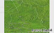 Satellite Panoramic Map of Ippy