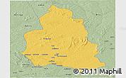 Savanna Style Panoramic Map of Ippy