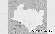 Gray 3D Map of Kouango