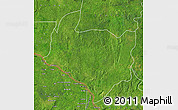 Satellite Map of Kouango