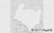 Silver Style Map of Kouango