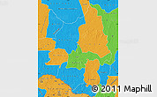 Political Map of Ouaka