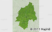 Satellite Map of Ouaka, lighten