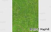 Satellite Map of Ouaka