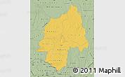 Savanna Style Map of Ouaka