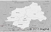 Gray Panoramic Map of Ouaka