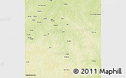 Physical 3D Map of Bouca