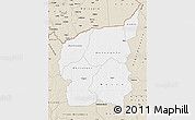 Classic Style Map of Ouham