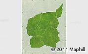 Satellite Map of Ouham, lighten