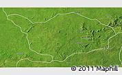 Satellite 3D Map of Ouandja-Djalle