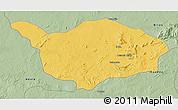 Savanna Style 3D Map of Ouandja-Djalle