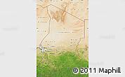 Satellite Map of Chad